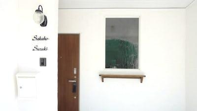 ヨーロピアンな玄関に!窓ガラスに「アルトドイッチェK」を使用した事例 (静岡県浜松市 S様)