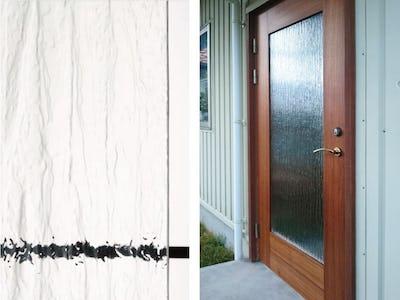 古くなった玄関扉をオシャレにリフォーム!「シルヴィ」をペアガラスにして使用した事例 (神奈川県 S様)