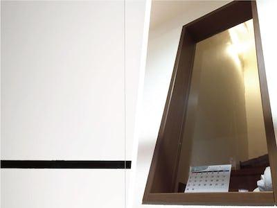 レトロな雰囲気にぴったり!住宅のFIX窓に「カラードアンティーク」を使用した事例 (愛知県 K様)