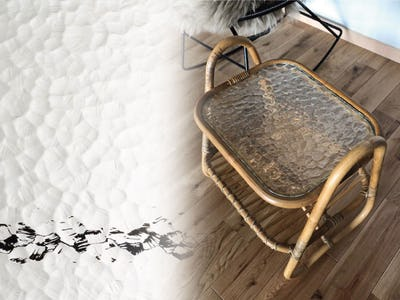 石目調の模様が綺麗!サイドテーブルの天板に「モニュメンタルM」を使用した事例(長崎県H様)