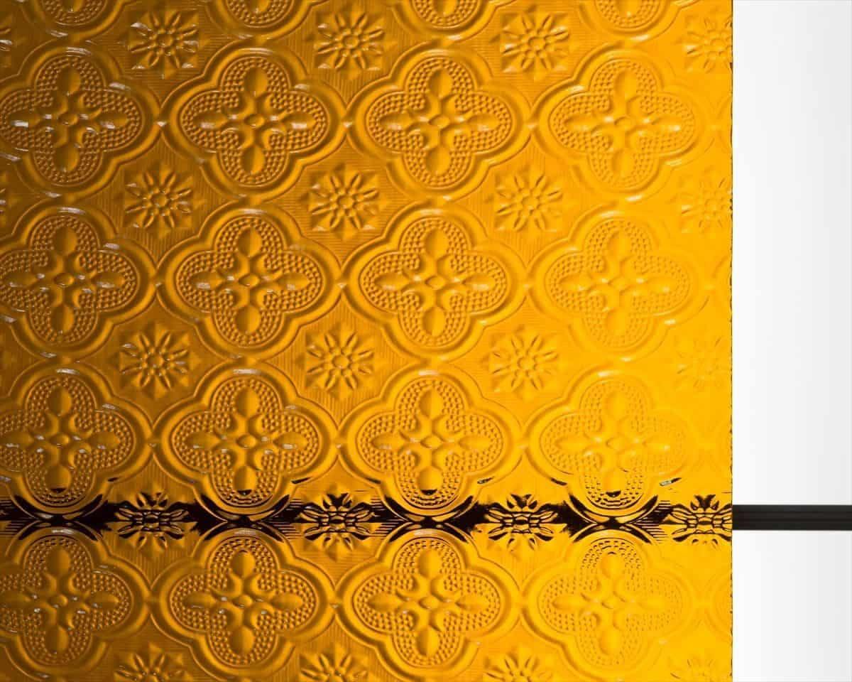 「FLW-004 フローラガラス(アンバー)」の商品画像
