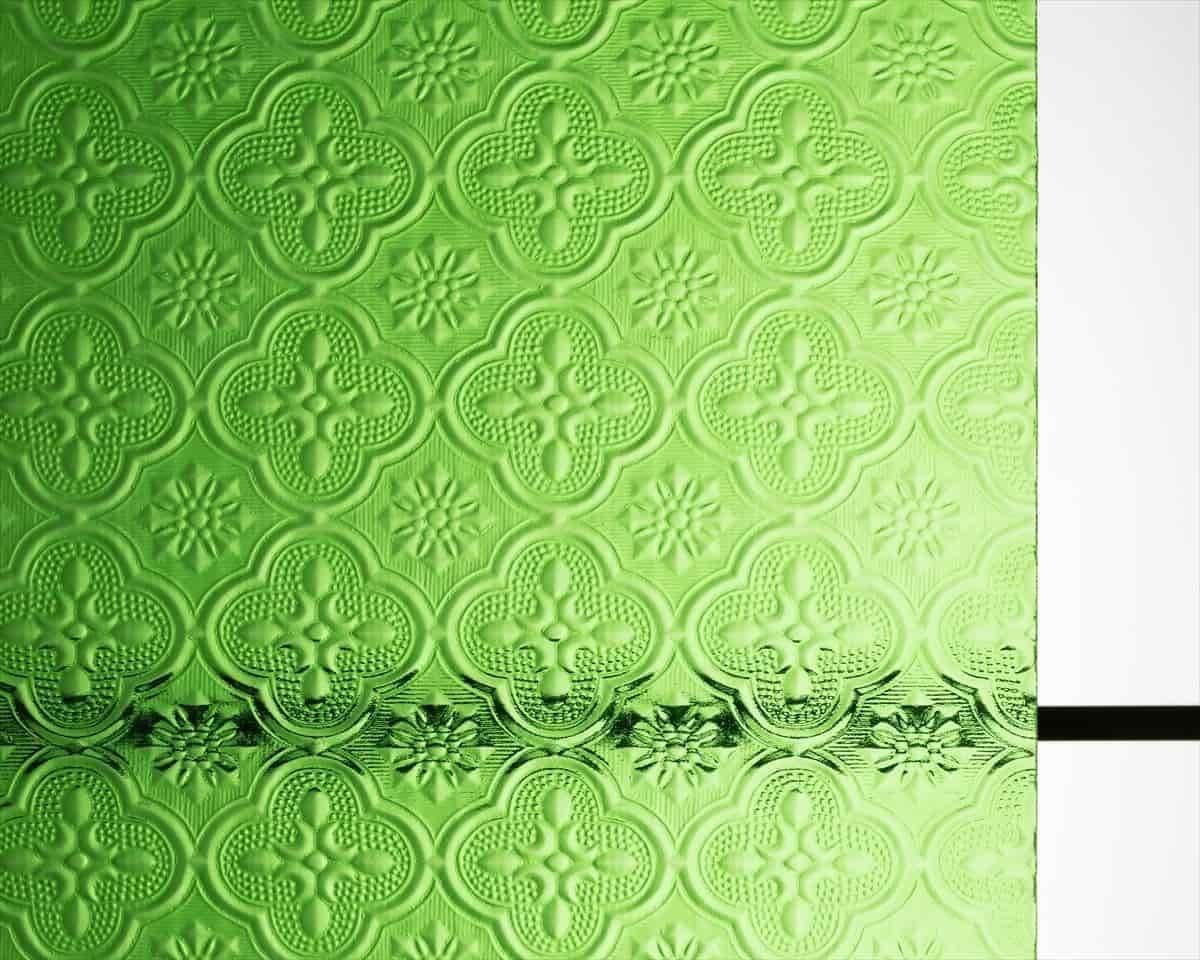 「FLW-002 フローラガラス(グリーン)」の商品画像