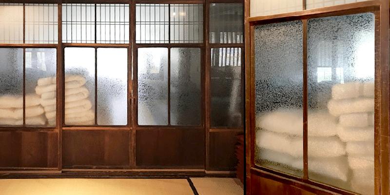 古民家のガラス戸に!「結晶ガラス」を使用した事例 (滋賀県大津市 A様)