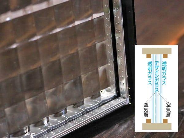 デザインペアガラス-トリプルガラス