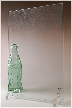 泡入りレトロガラス