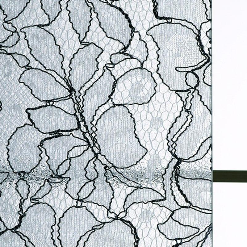 レースガラス フラワーグロー ツートーン柄 商品画像