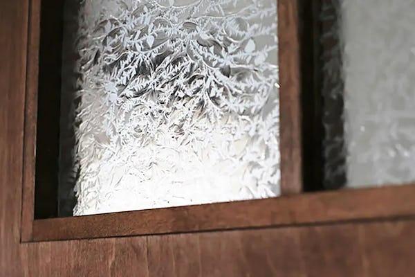 希少在庫 昭和型板ガラスについて