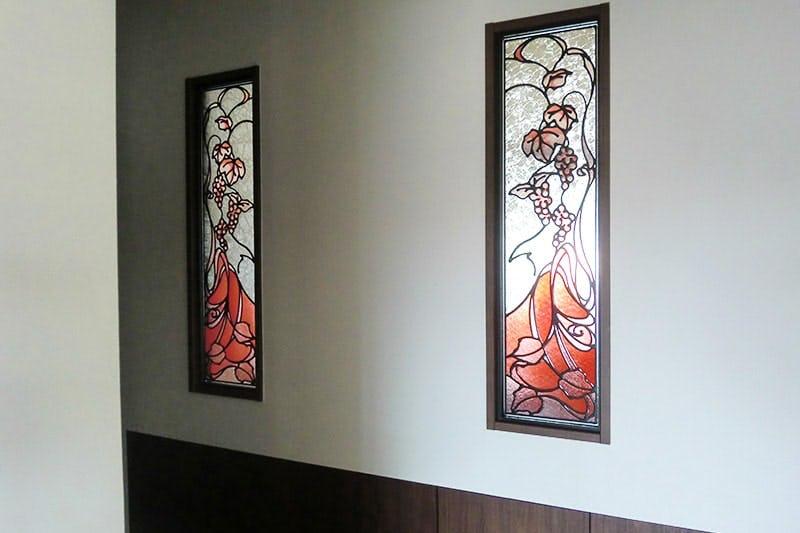 ステンドグラス風ガラス 事例写真