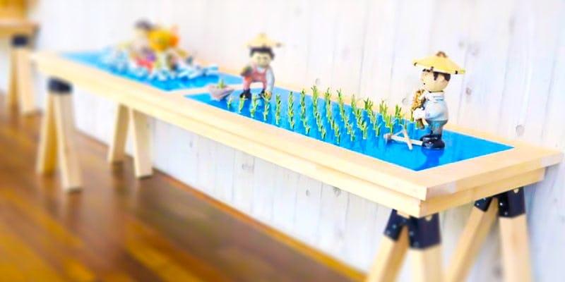 「塗装カラーガラス「彩」(紺碧)」の施工事例