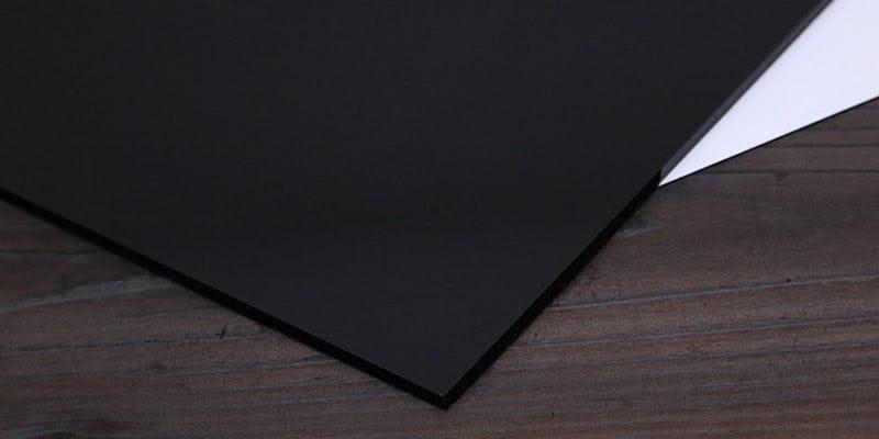 塗装カラーガラス「彩」(漆黒) イメージ画像