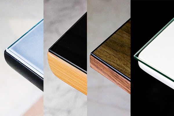 テーブルによって変化?テーブルトップガラス9種の見え方を写真で比較!
