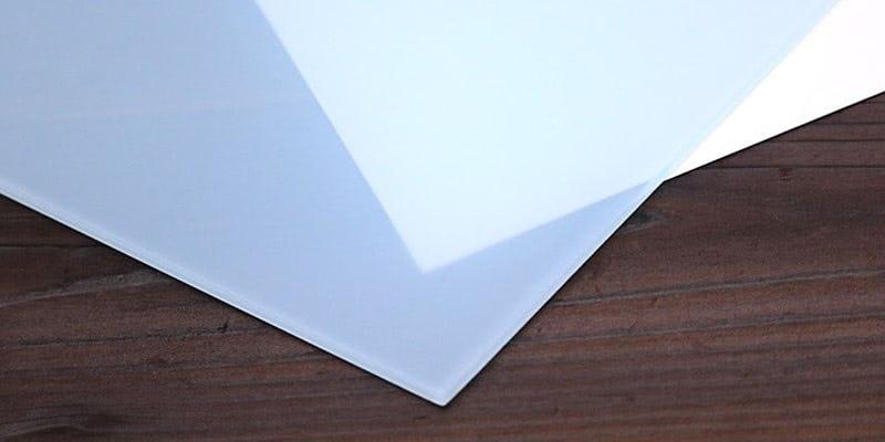 セラミックプリントガラス(ミストブルー) イメージ画像