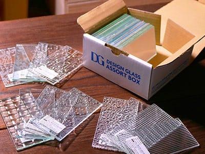 デザインガラスサンプル・アソートボックス